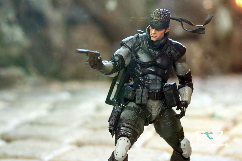 Review Play Arts Kai Metal Gear Solid Snake Rad Toy Review