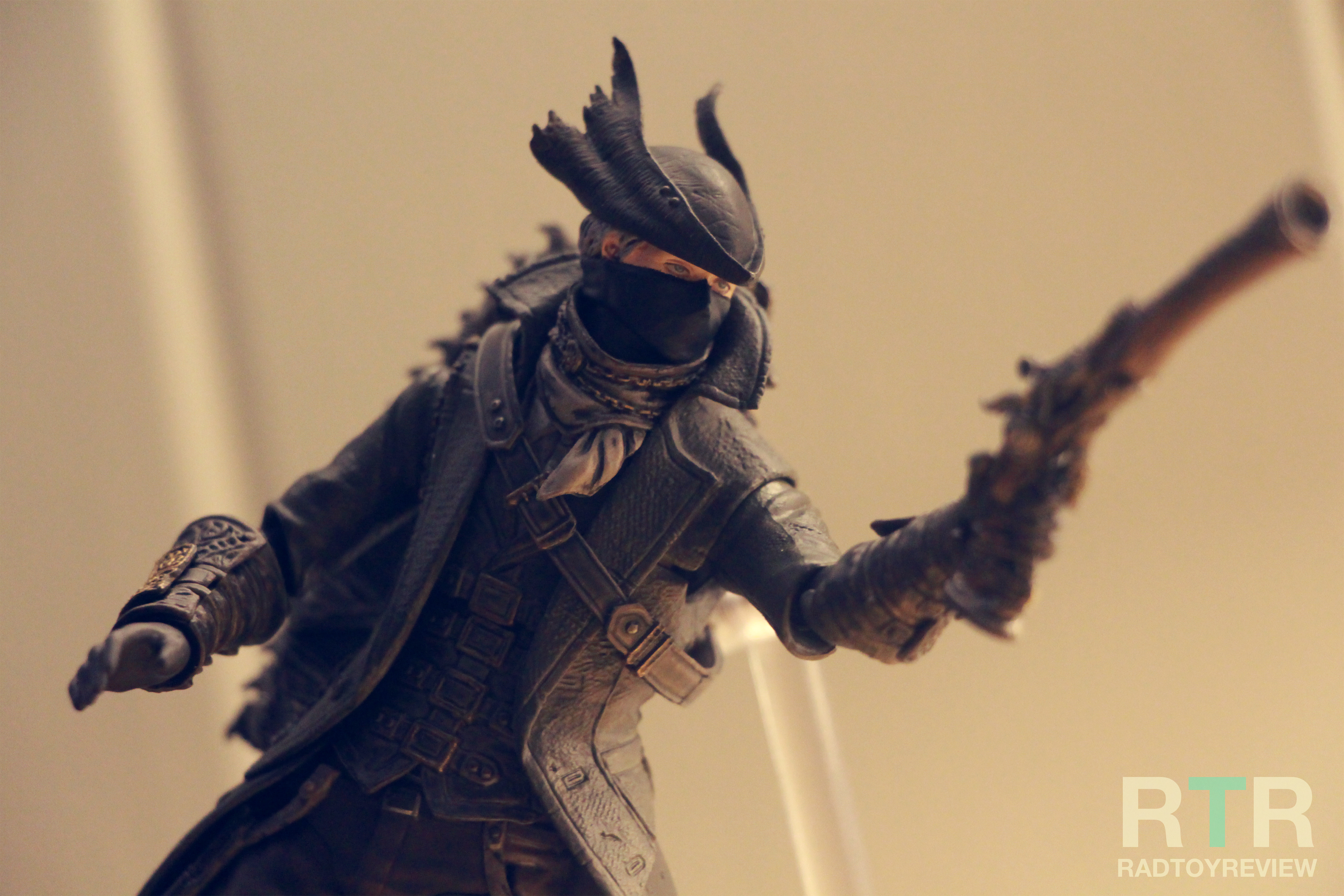 REVIEW* Figma Bloodborne Hunter | Rad Toy Review